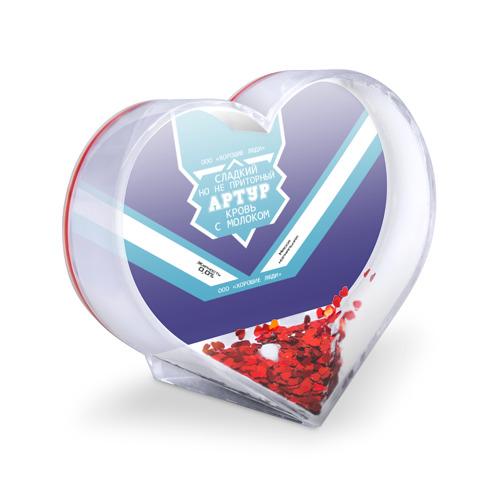Сувенир Сердце  Фото 03, Артур - банка сгущенки