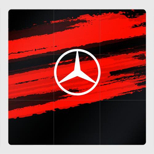 Магнитный плакат 3Х3 Mercedes MOTORs