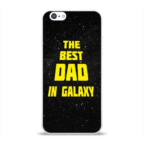 Чехол для Apple iPhone 6 силиконовый глянцевый  Фото 01, The best dad