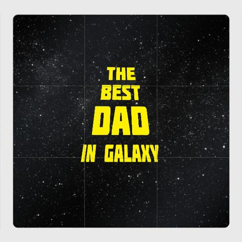 Магнитный плакат 3Х3 The best dad Фото 01