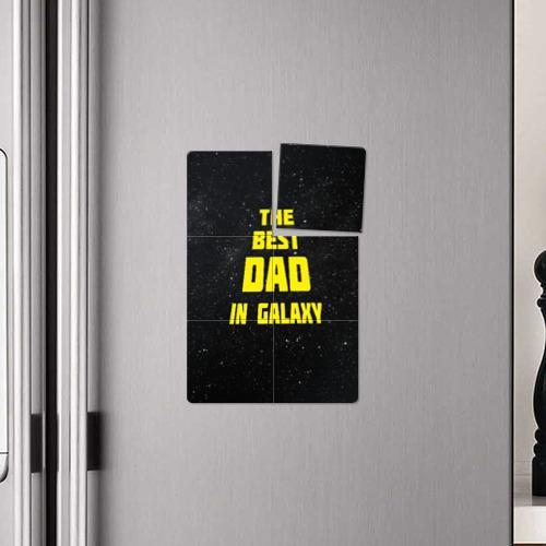 Магнитный плакат 2Х3 The best dad Фото 01