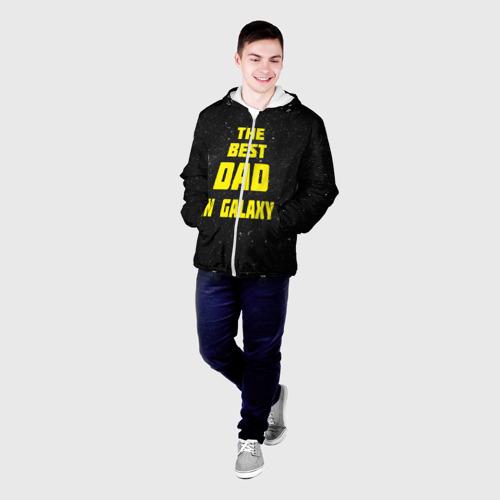 Мужская куртка 3D The best dad Фото 01