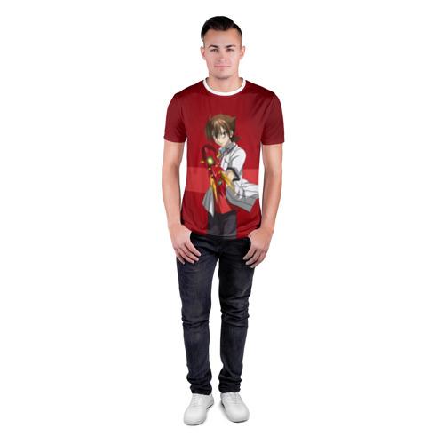 Мужская футболка 3D спортивная  Фото 04, Иссэй Хёдо
