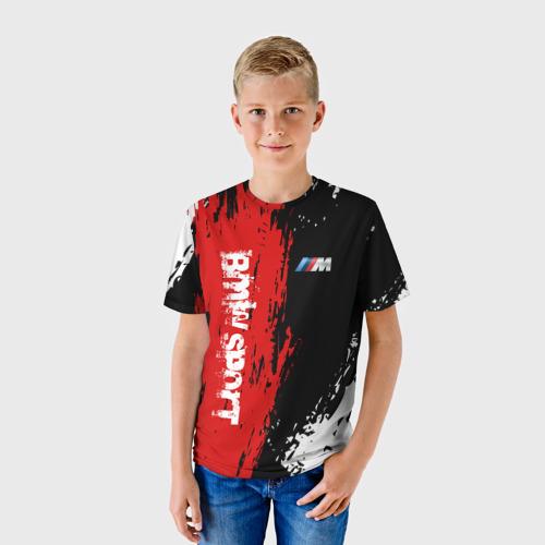 Детская футболка 3D BMW 2018 M Sport