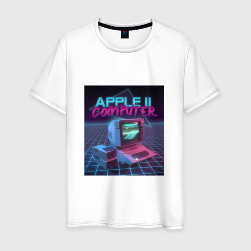Мужская футболка хлопок Apple II