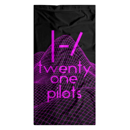 Бандана-труба 3D  Фото 07, twenty one pilots neon music