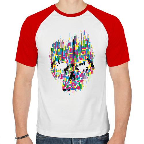 Мужская футболка реглан  Фото 01, Череп