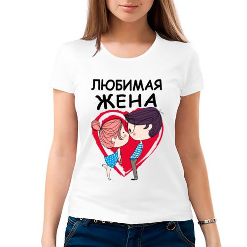 Женская футболка хлопок  Фото 03, Любимая жена