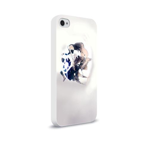 Чехол для Apple iPhone 4/4S soft-touch  Фото 02, D.Gray-man 7