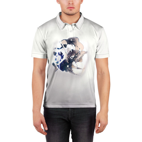 Мужская рубашка поло 3D  Фото 03, D.Gray-man 7