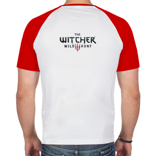 Мужская футболка реглан  Фото 02, Ведьмак