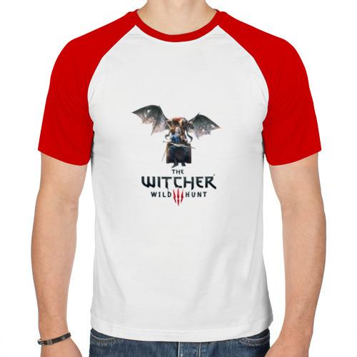 Мужская футболка реглан  Фото 01, Ведьмак