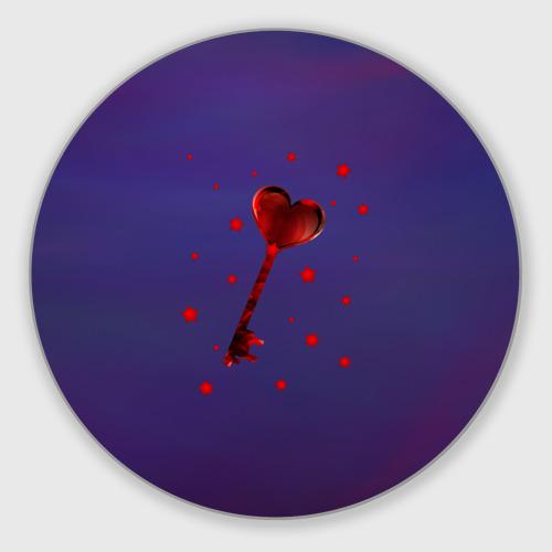 Коврик круглый  Фото 01, Ключ от сердца