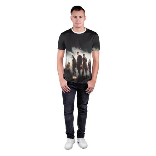 Мужская футболка 3D спортивная  Фото 04, Doctor Who