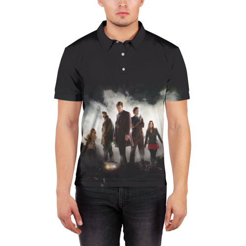 Мужская рубашка поло 3D  Фото 03, Doctor Who