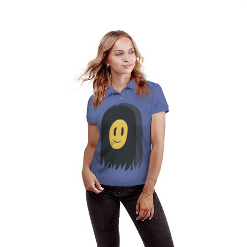 Женская рубашка поло 3D Пошлая Молли Фото 01