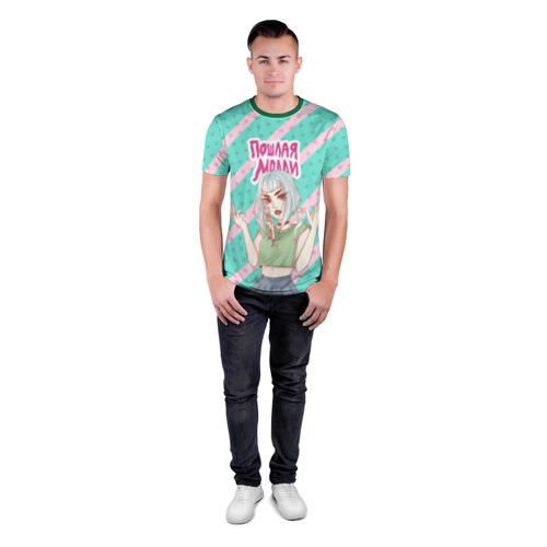 Мужская футболка 3D спортивная Молли Фото 01