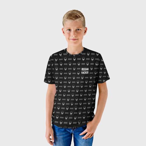 Детская футболка 3D  Фото 01, Russian Hacker