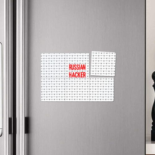Магнитный плакат 3Х2 Russian Hacker Фото 01