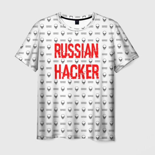 Мужская футболка 3D  Фото 03, Russian Hacker