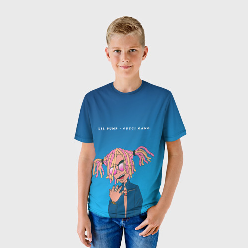 Детская футболка 3D Lil Pump Gucci Gang