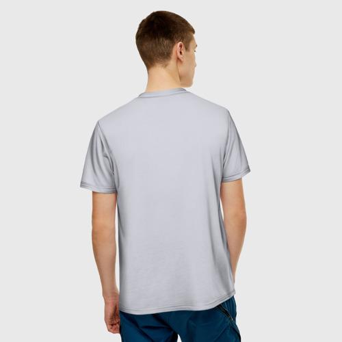 Мужская футболка 3D  Фото 02, олимпийская форма