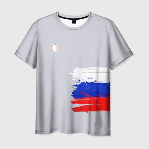 Мужская футболка 3D  Фото 03, олимпийская форма