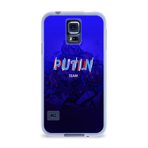 Чехол для Samsung Galaxy S5 силиконовый  Фото 01, Putin team