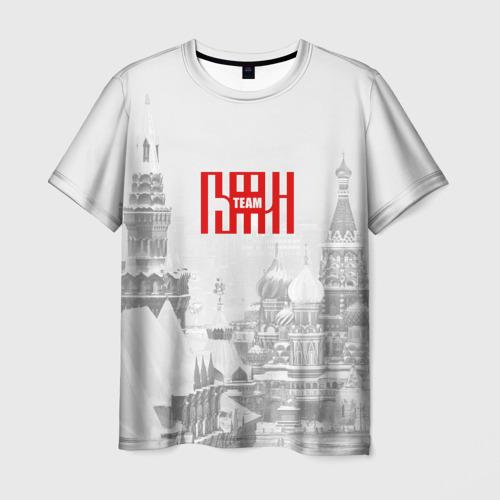 Мужская футболка 3D  Фото 03, Putin team