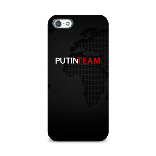 Чехол для Apple iPhone 5/5S 3D  Фото 01, Putin team