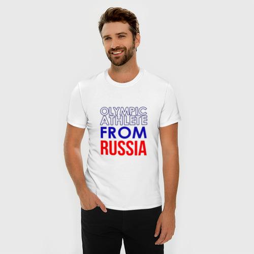 Мужская футболка премиум  Фото 03, олимпийская форма