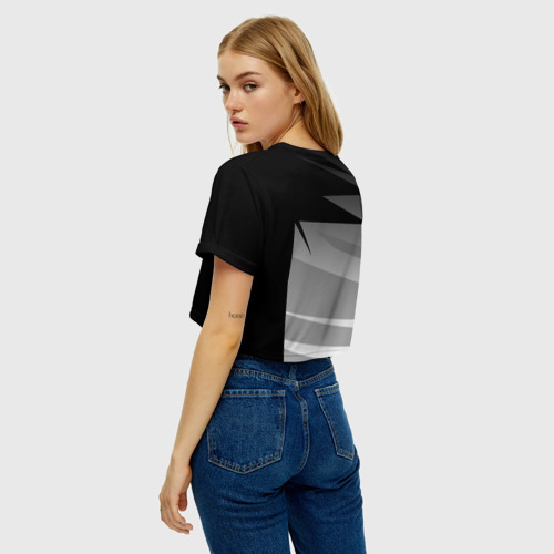 Женская футболка Crop-top 3D TOYOTA SPORT   Фото 01
