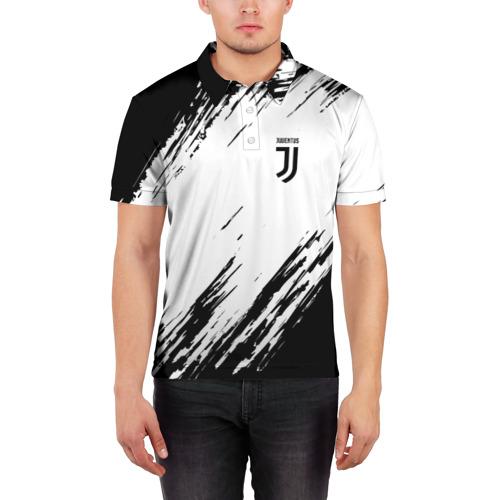 Мужская рубашка поло 3D  Фото 03, Juventus 2018 Original