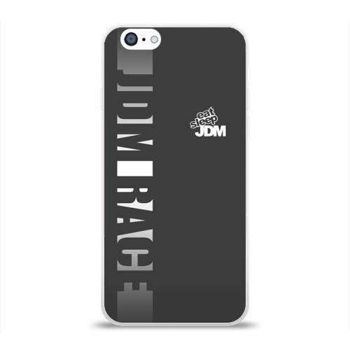 Чехол для Apple iPhone 6 силиконовый глянцевый  Фото 01, JDM SPORT
