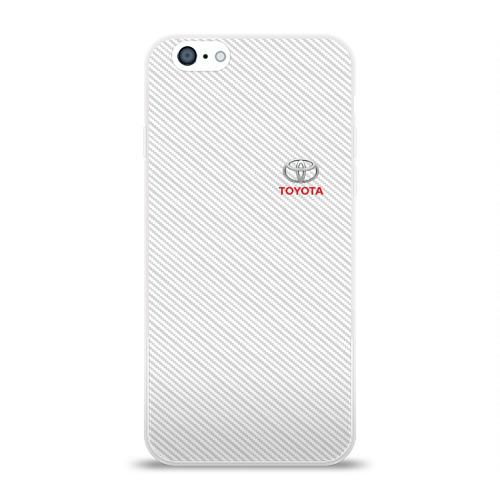 Чехол для Apple iPhone 6 силиконовый глянцевый TOYOTA SPORT