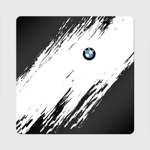Магнит виниловый Квадрат  Фото 01, BMW SPORT