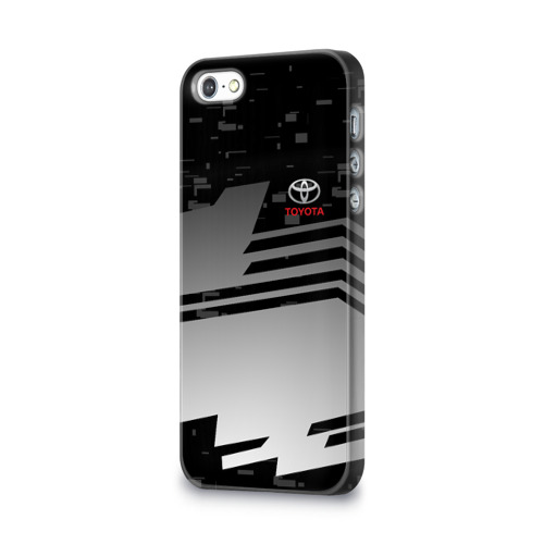 Чехол для Apple iPhone 5/5S 3D  Фото 03, TOYOTA SPORT