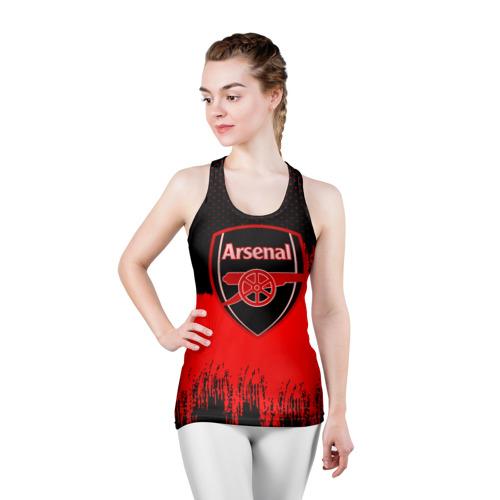 Женская майка 3D спортивная FC Arsenal Original uniform Фото 01