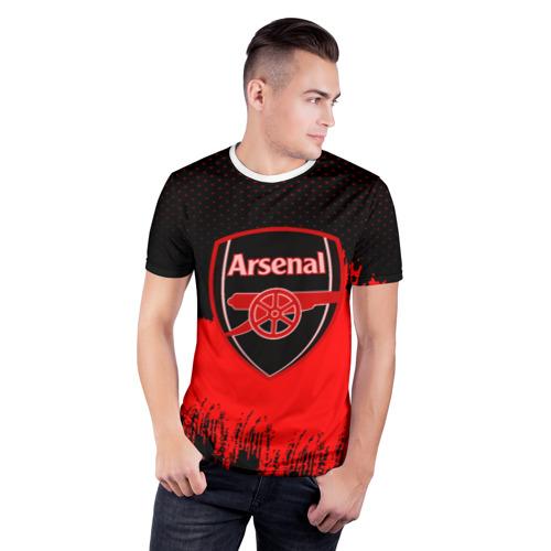 Мужская футболка 3D спортивная FC Arsenal Original uniform Фото 01
