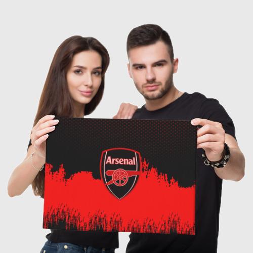 Холст прямоугольный FC Arsenal Original uniform Фото 01