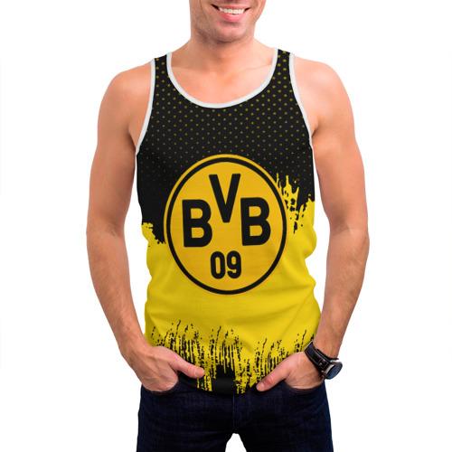 Мужская майка 3D  Фото 03, FC Borussia Uniform