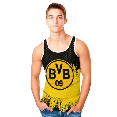 Мужская майка 3D  Фото 05, FC Borussia Uniform