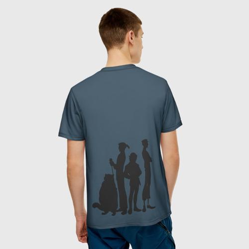 Мужская футболка 3D  Фото 02, Осторожно!