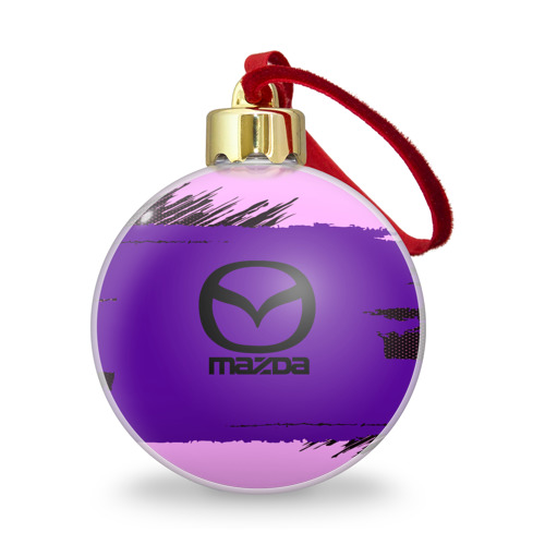 Ёлочный шар с блестками  Фото 01, Mazda Sport