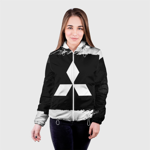 Женская куртка 3D  Фото 03, Mitsubishi Black collection