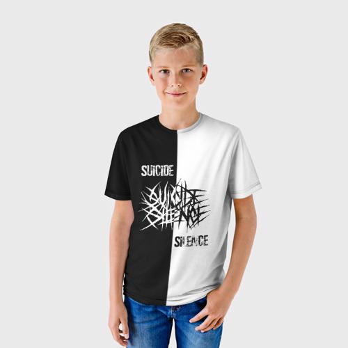 Детская футболка 3D Suicide Silence