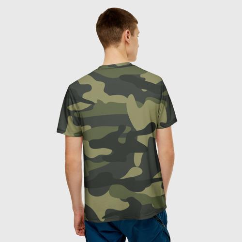 Мужская футболка 3D Самый лучший папа Фото 01