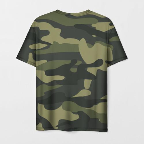 Мужская футболка 3D Самый лучший дед
