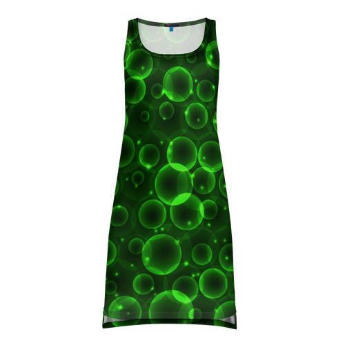 Платье-майка 3D Пузыри