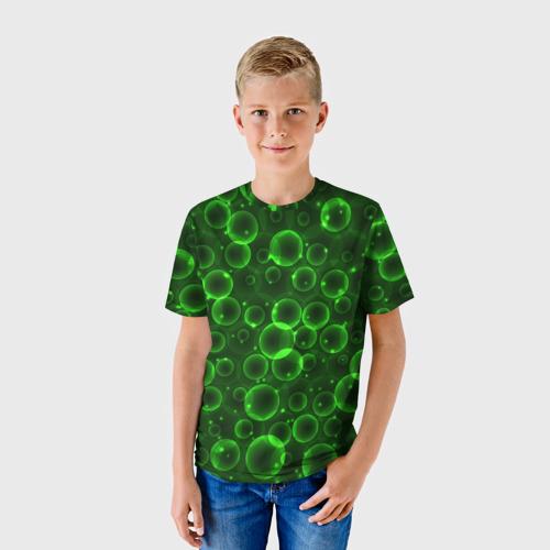 Детская футболка 3D Пузыри